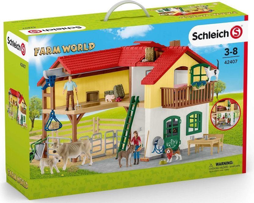 Figurka Schleich Duża Farma (42407) 1