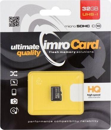 Karta Imro MicroSDHC 32 GB Class 10 UHS-I/U1  (10/32G UHS-I) 1