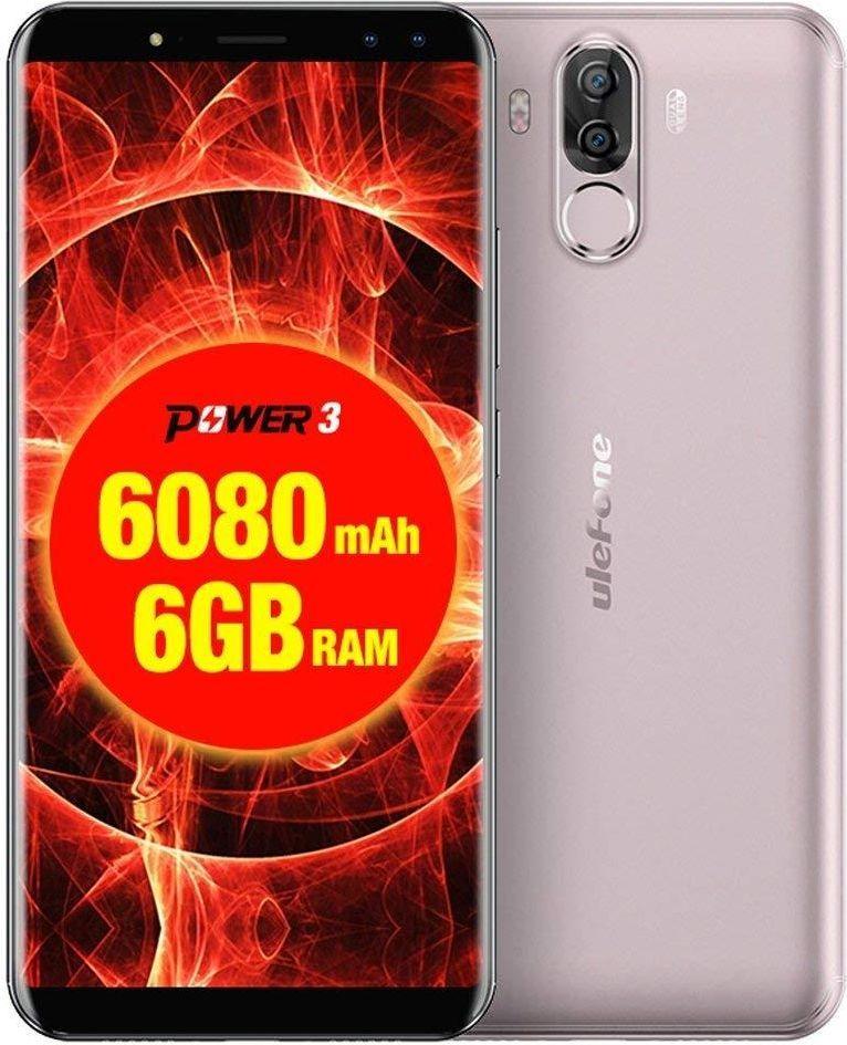 Smartfon UleFone Power 3 64 GB Dual SIM Złoty  (UF-PO3/GD                      ) 1