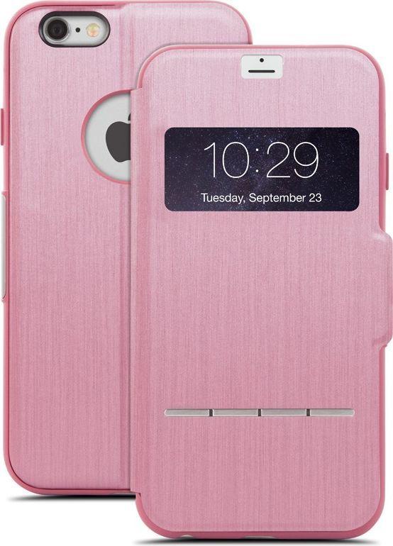 Moshi Moshi Sensecover Etui Z Klapką Dotykową Iphone 6s Plus Iphone 6 Plus (różowy) ID produktu: 4919676