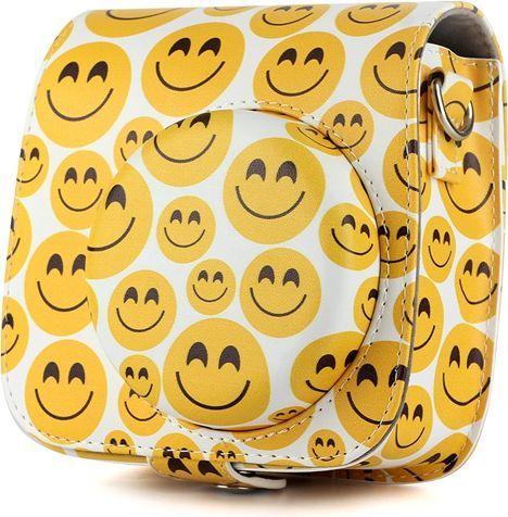 Pokrowiec LoveInstant Futerał / Etui / Pokrowiec Do Fujifilm Instax Mini 9 8 - Smile 1
