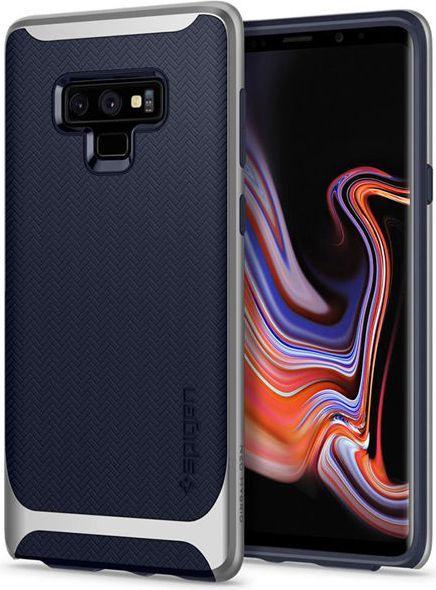 Spigen Nakładka Neo Hybrid do Samsung Galaxy Note 9 niebiesko-srebrna 1