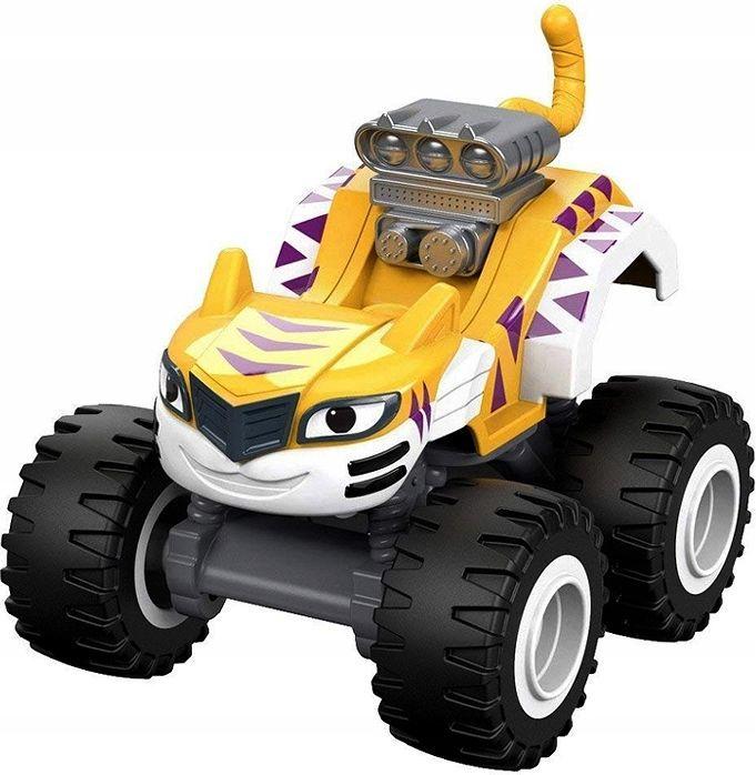 Mattel Blaze. Metalowy pojazd - Super Tiger Stripes (295117) 1