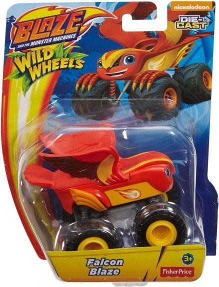 Mattel Blaze. Metalowy pojazd - Falcon Blaze (295115) 1