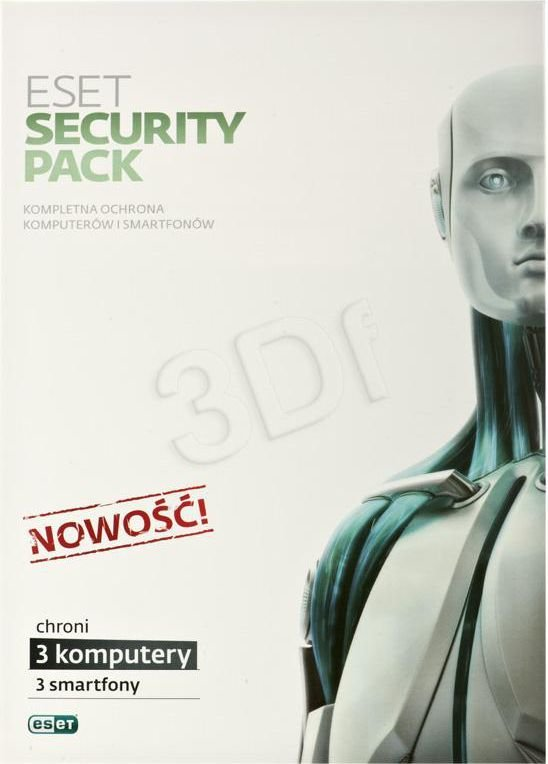 ESET Security Pack (3 st./1 rok) 1