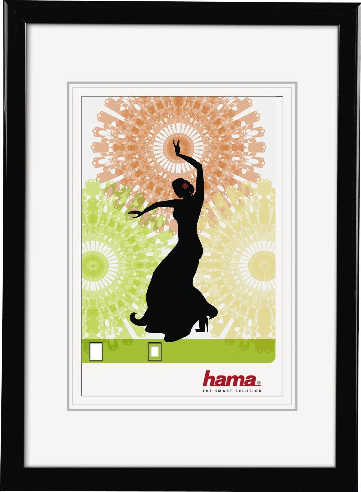 Ramka Hama Ramka na zdjęcie Madrid 21x29.7 czarna (66692) 1