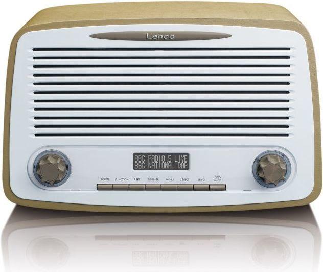 Radio Lenco DAR-012 beżowy 1