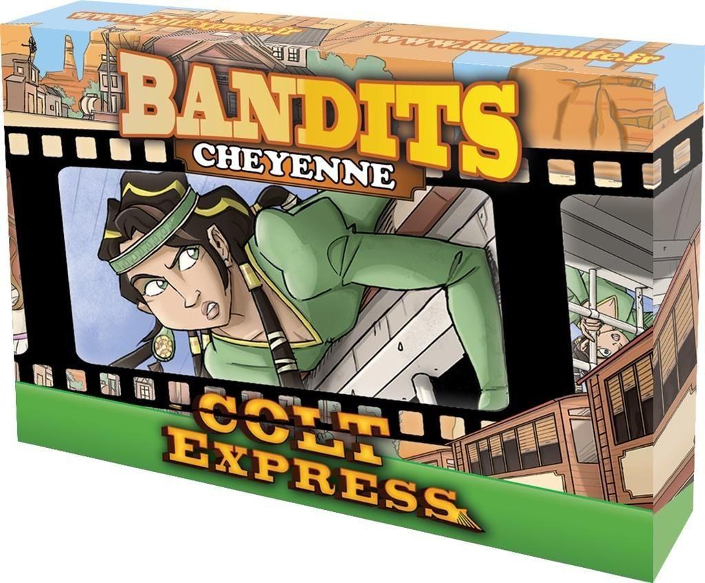 Rebel Gra Colt Express Bandits - Cheyenne 1