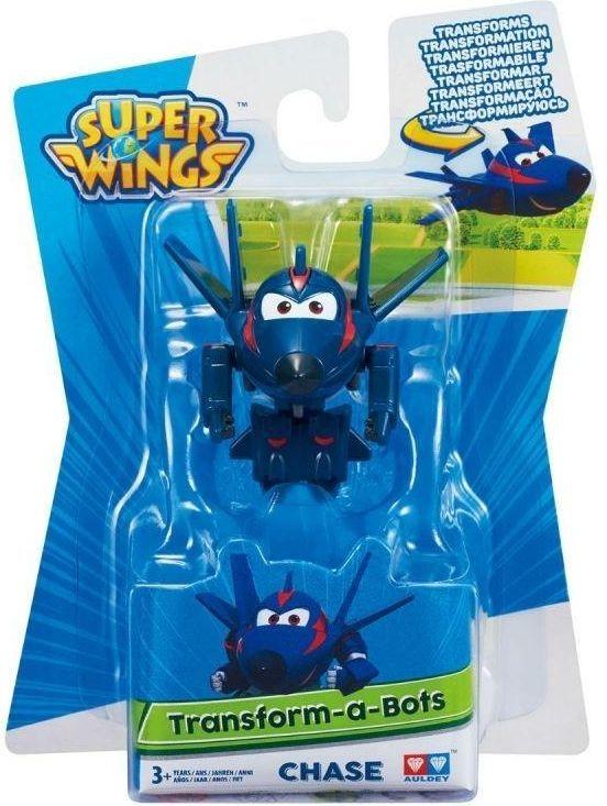 Super Wings AGENT CHASE Transform Spielzeugfigur Mini 1