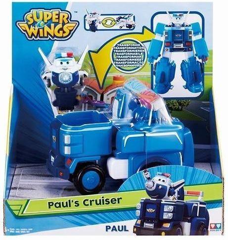 Super Wings Transforming Vehicle Paul 1