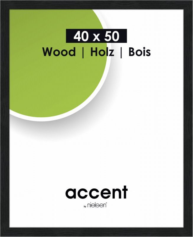 Ramka Nielsen Design Accent Magic, 40x50, drewniana (9740004) 1