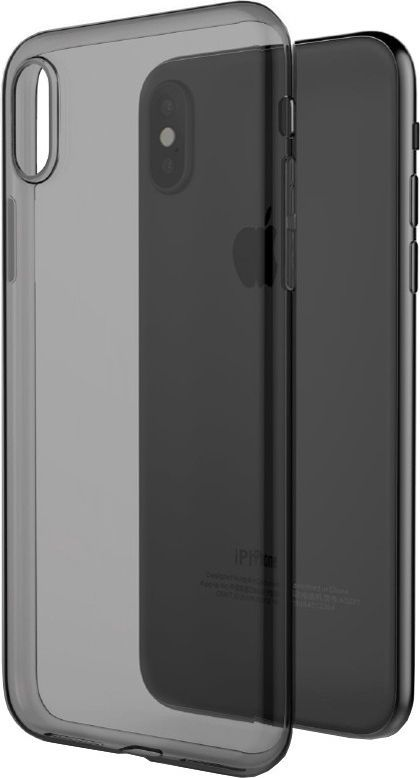X-doria X-doria Gel Jacket - Etui Iphone X (czarny Przezroczysty) 1