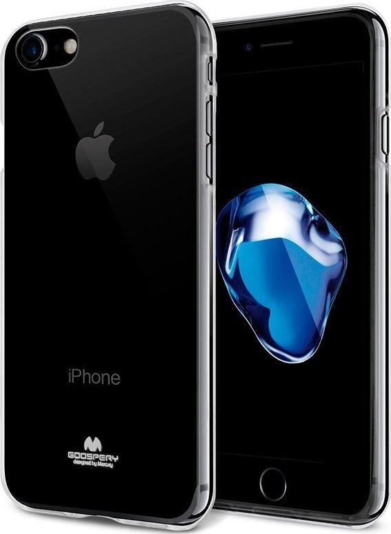 Mercury Mercury Transparent Jelly - Etui Iphone 8 / 7 (czarny/przezroczysty) 1