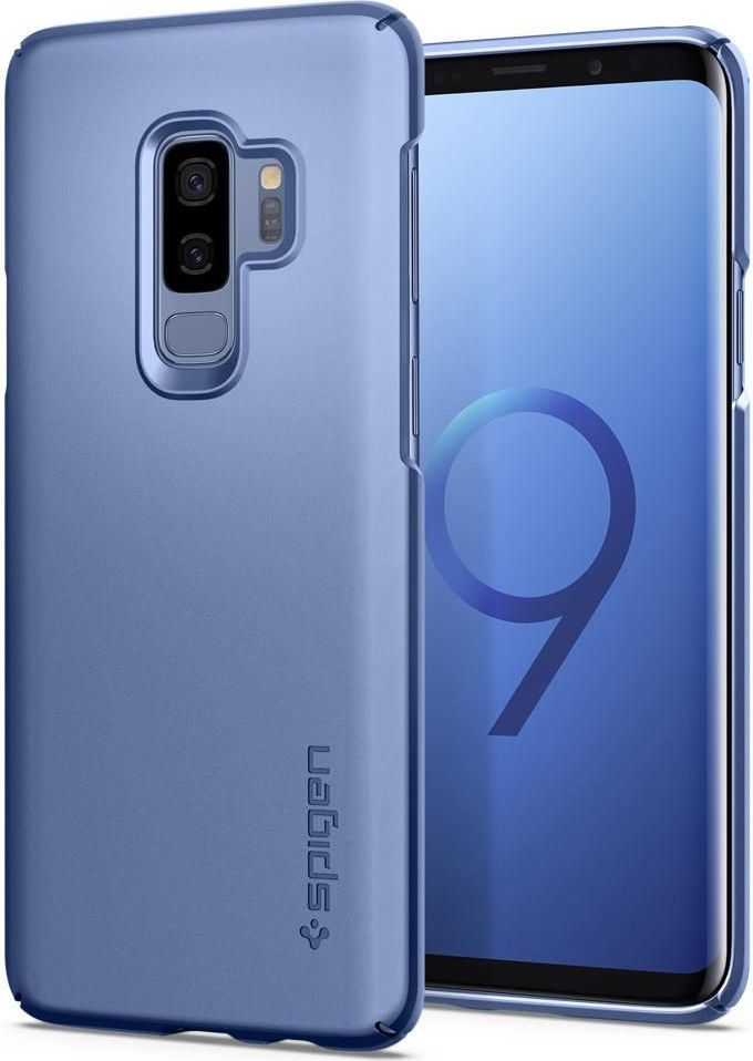 Spigen Spigen Thin Fit Galaxy S9+ Plus Coral Blue 1