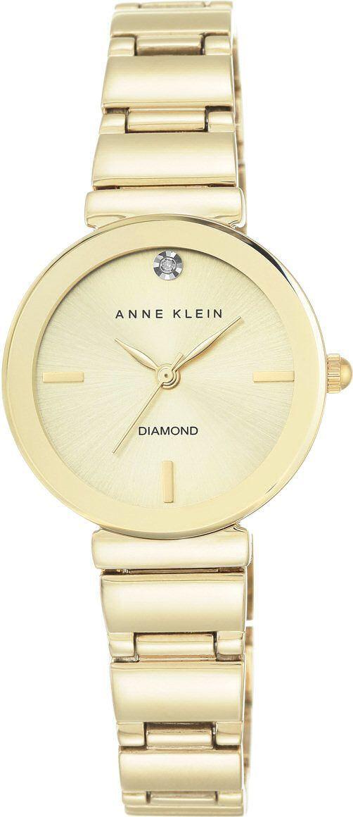 Zegarek Anne Klein Diamond Gold (AK/2434CHGB) 1