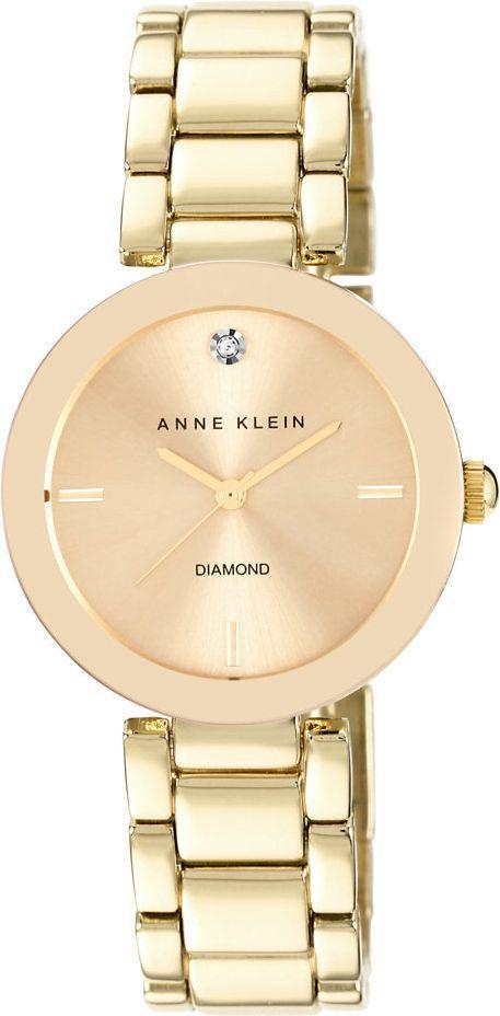 Zegarek Anne Klein Diamond Gold (AK/1362CHGB) 1
