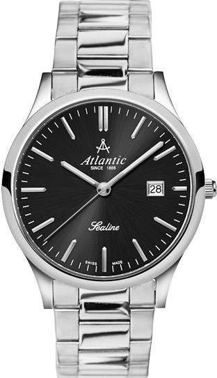 Zegarek Atlantic Męski Sealine 62346.41.61 Szafirowe szkło srebrny 1