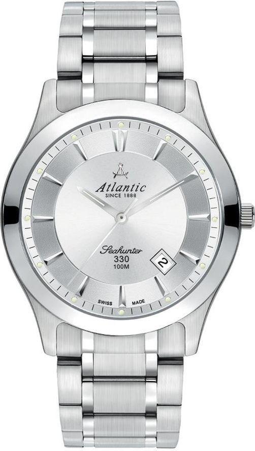 Zegarek Atlantic Seahunter Szafirowe szkło (71365.41.21) 1