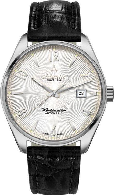 Zegarek Atlantic Męski Worldmaster 51752.41.25S Automatyczny czarny 1