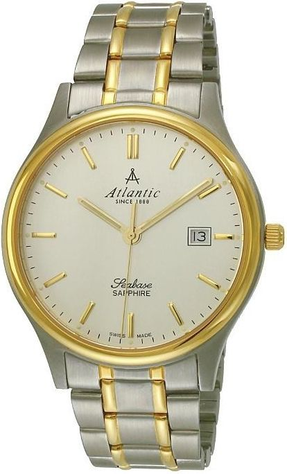 Zegarek Atlantic Seabase Szafirowe szkło (60347.43.21) 1