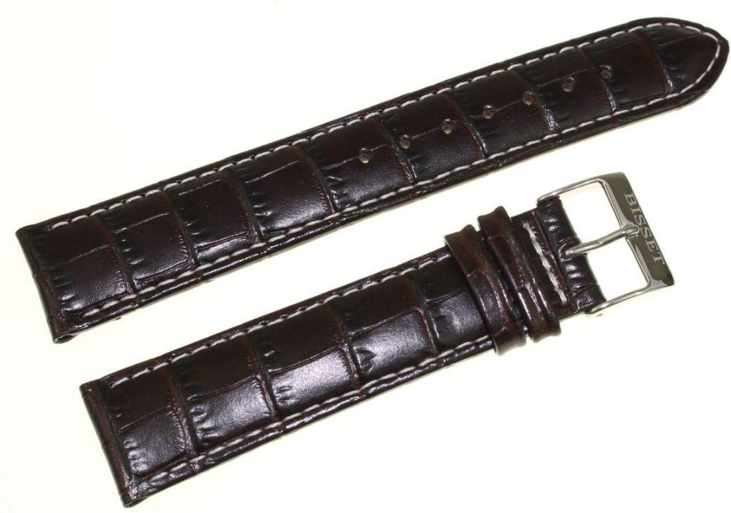 Bisset Skórzany pasek do zegarka Bisset 20 mm BS-110.20.18.05 1
