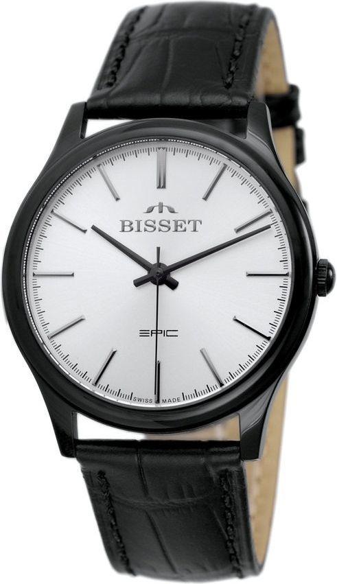 Zegarek Bisset Męski Klasyczny BSCE56 BISX 05BX czarny 1