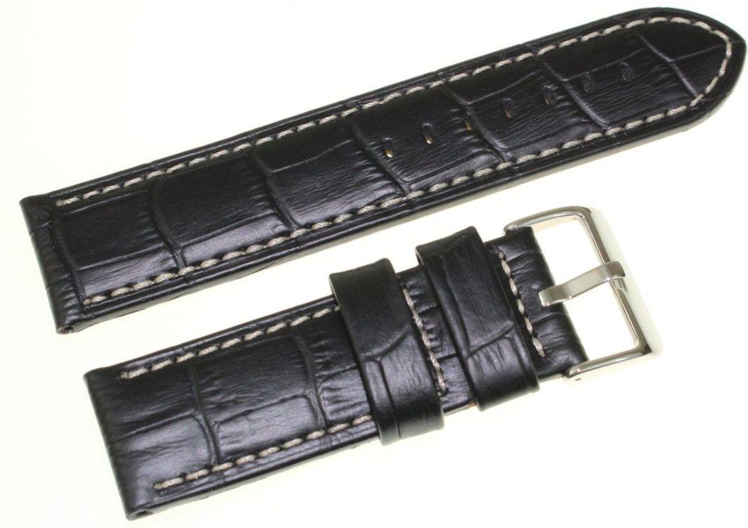 Bisset Skórzany pasek do zegarka Bisset 24 mm BS-164.24.24.01 1