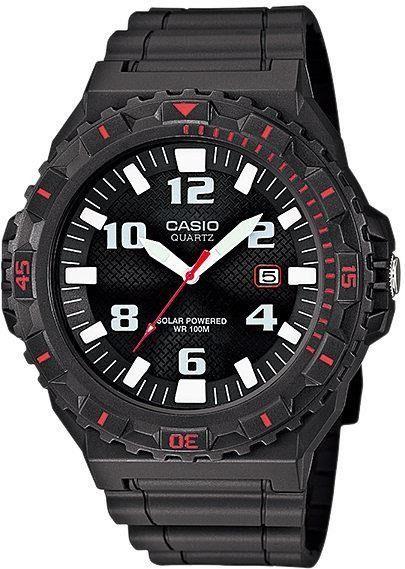Zegarek Casio Męski MRW-S300H-8BVEF Tough Solar czarny 1