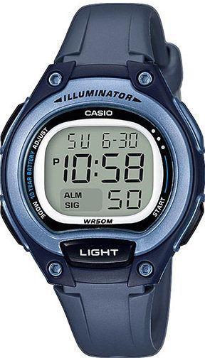 Zegarek Casio Cyfrowy LW-203 -2AV Granatowy (3698) 1