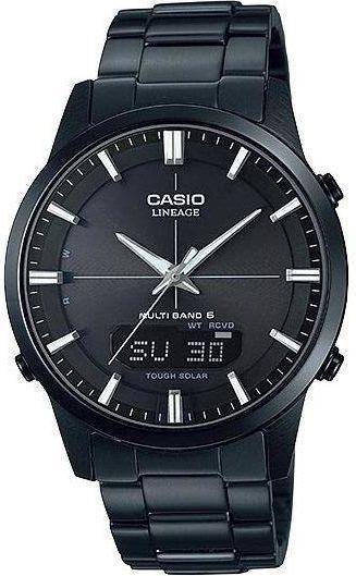 Zegarek Casio Męski LCW-M170DB-1AER Solar Wave Ceptor czarny 1