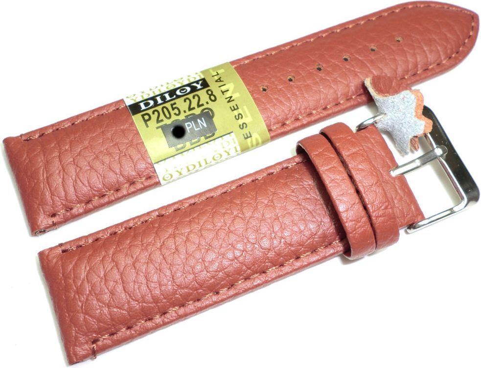Diloy Skórzany pasek do zegarka 22 mm Diloy P205.22.8 1