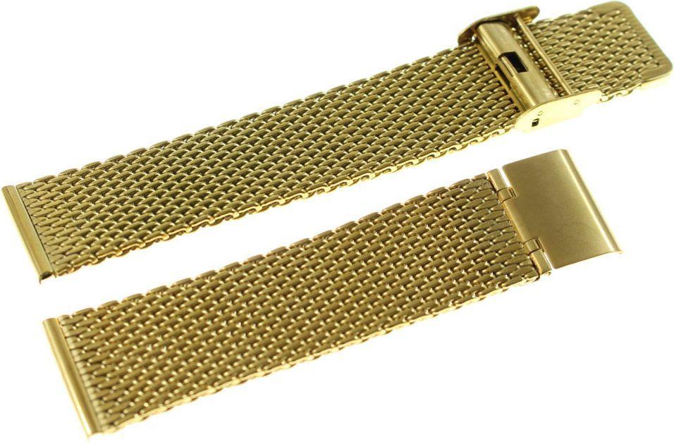 Diloy Bransoleta stalowa do zegarka Diloy MESH10-22-G 22 mm 1