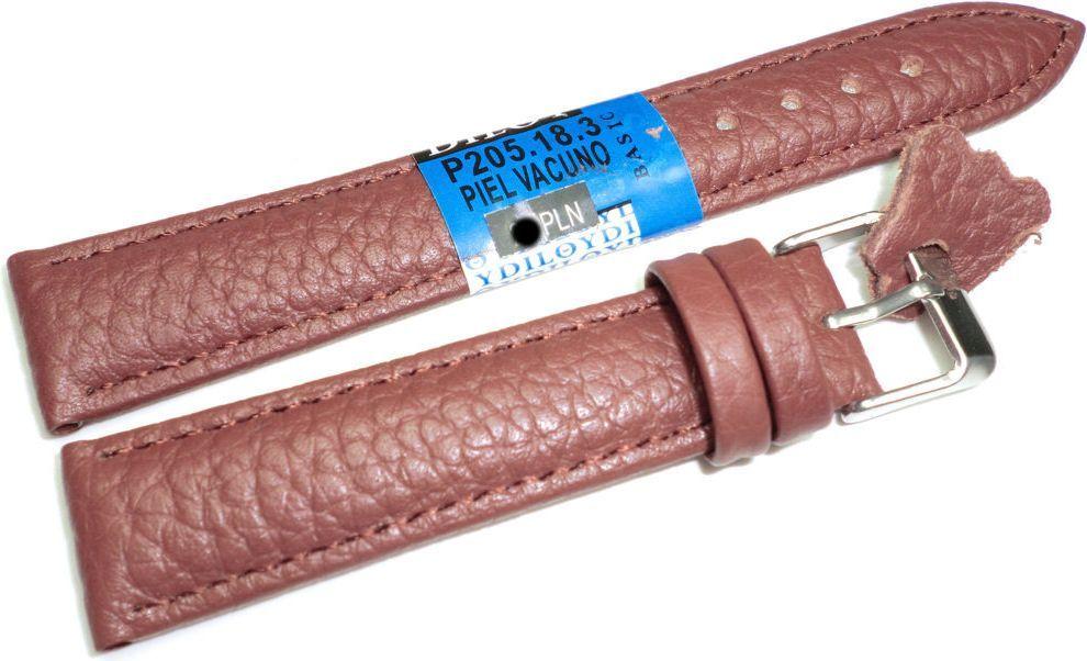 Diloy Skórzany pasek do zegarka 18 mm Diloy P205.18.3 1