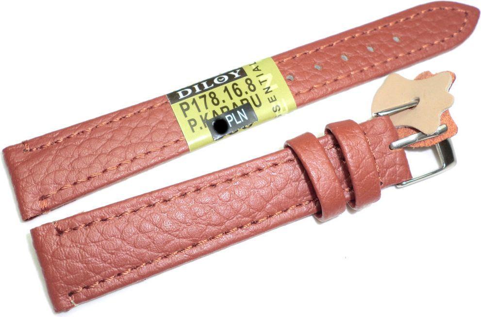 Diloy Skórzany pasek do zegarka 16 mm Diloy P178.16.8 1
