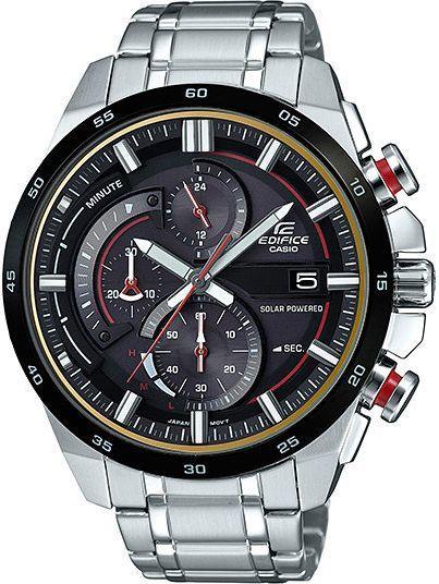 Zegarek Casio EQS-600DB-1A4 Edifice męski srebrny 1