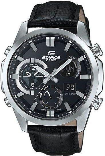 Zegarek Casio Męski ERA-500L-1AER Edifice Termometr czarny 1