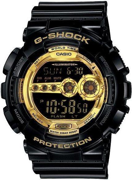 d69f3667ac9e65 Casio Męski GD-100GB-1ER G-Shock czarny w Morele.net