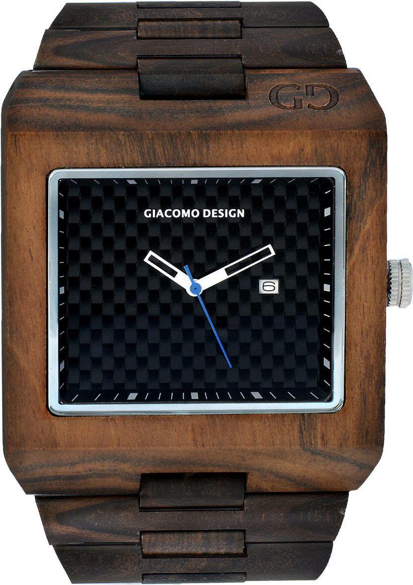 Zegarek Giacomo Design Drewniany (GD08501) 1