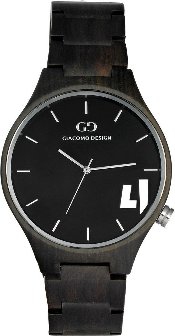 Zegarek Giacomo Design Drewniany (GD08701) 1