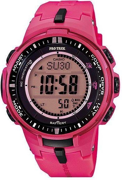 Zegarek Casio Damski PRW-3000-4BER ProTrek różowy 1