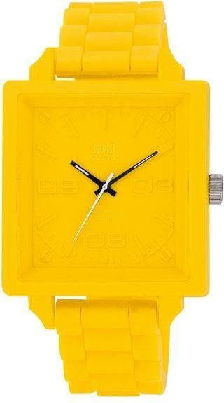 Zegarek Q&Q VR12-007 Fashion żółty 1