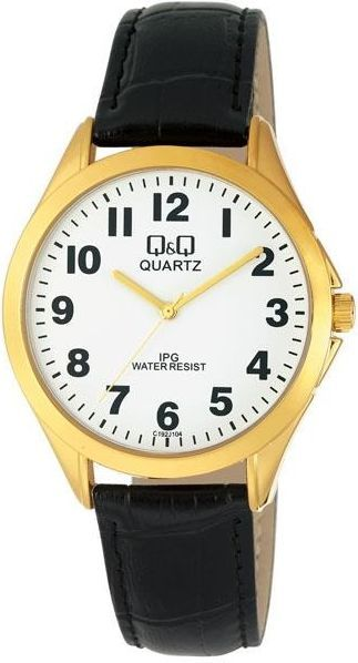 Zegarek Q&Q Uniseks Klasyczny C192-104 czarny 1