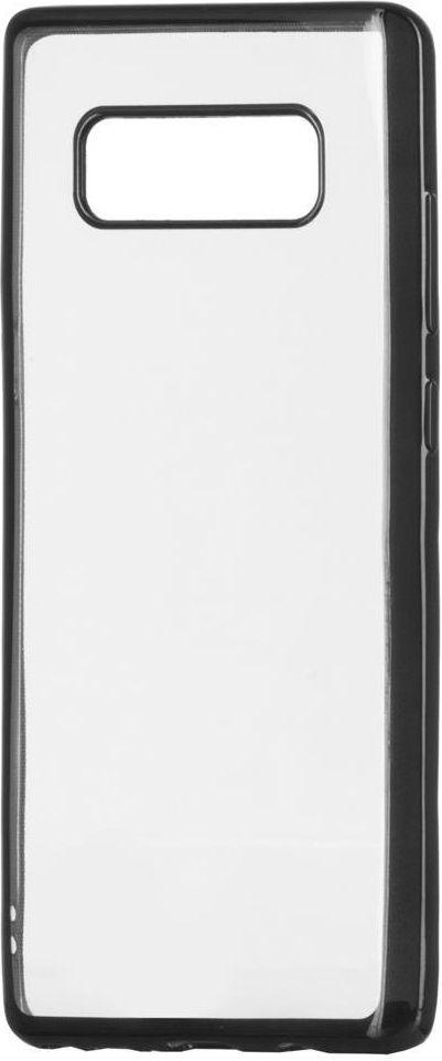 Hurtel Żelowy pokrowiec etui Metalic Slim Sony Xperia XZ2 czarny 1