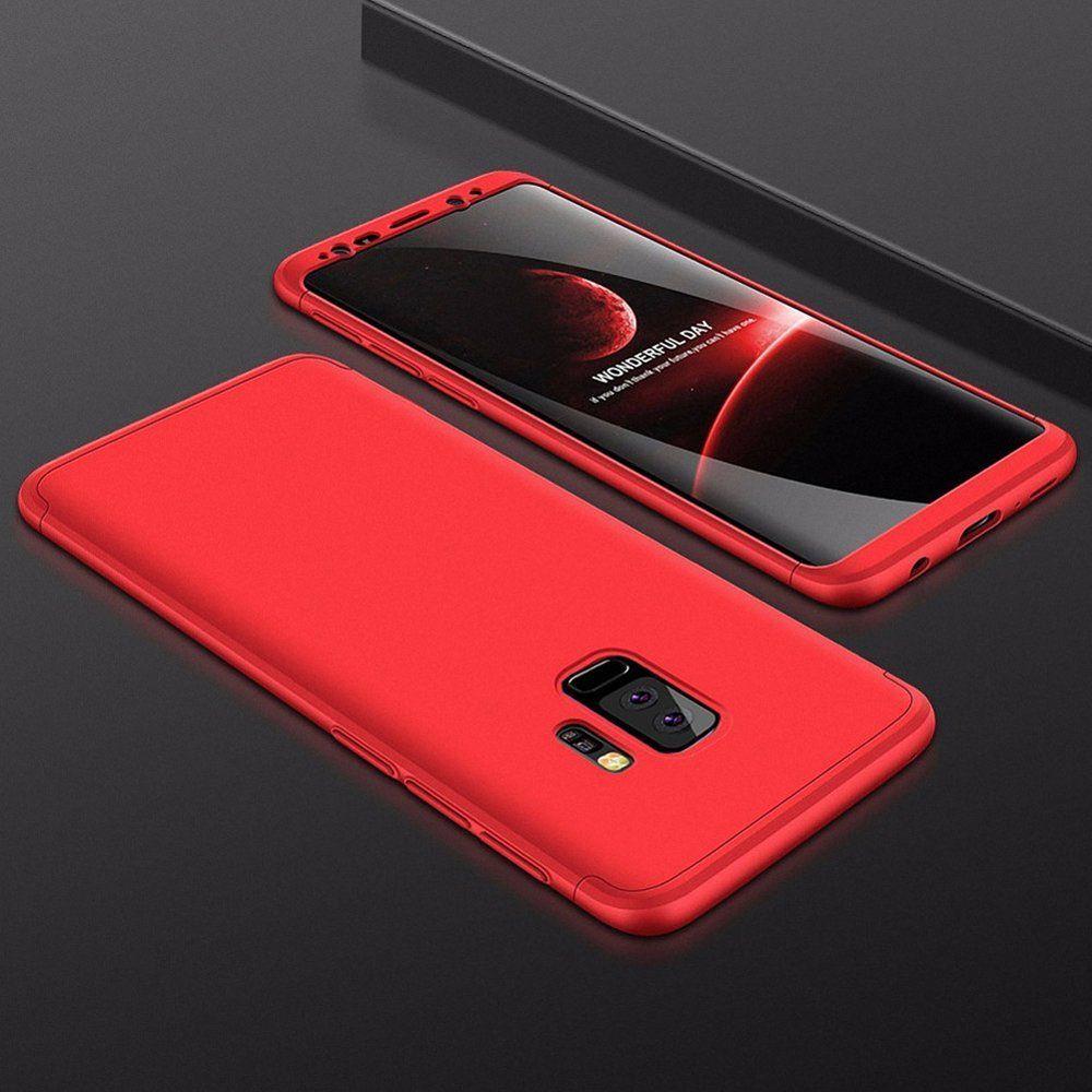 Hurtel 360 Protection etui na całą obudowę przód + tył Samsung Galaxy S9 Plus G965 czerwony 1