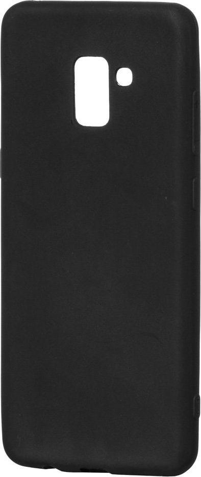 Hurtel Soft Matt żelowy pokrowiec etui Samsung Galaxy A8 Plus 2018 A730 czarny 1