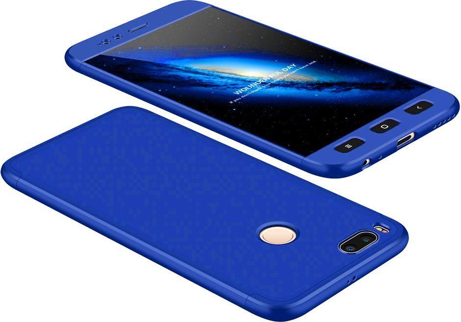 Hurtel 360 Protection etui na całą obudowę przód + tył Xiaomi Mi A1 / Mi 5X niebieski 1