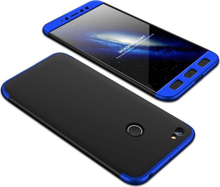 Hurtel 360 Protection etui na całą obudowę przód + tył Xiaomi Redmi Note 5A Prime czarno-niebieski 1