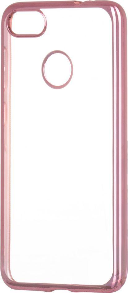 Hurtel Żelowy pokrowiec etui Metalic Slim Huawei P9 Lite Mini różowy 1