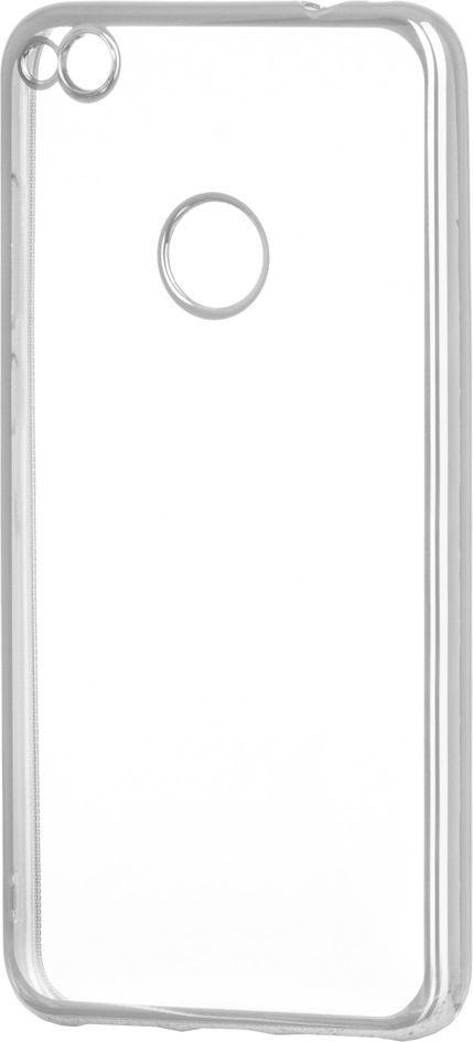 Hurtel Żelowy pokrowiec etui Metalic Slim Huawei P9 Lite 2017 / P8 Lite 2017 / Honor 8 Lite / Nova Lite srebrny 1