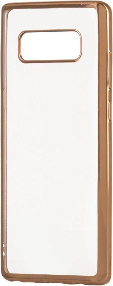 Hurtel Żelowy pokrowiec etui Metalic Slim Sony Xperia XA2 złoty 1